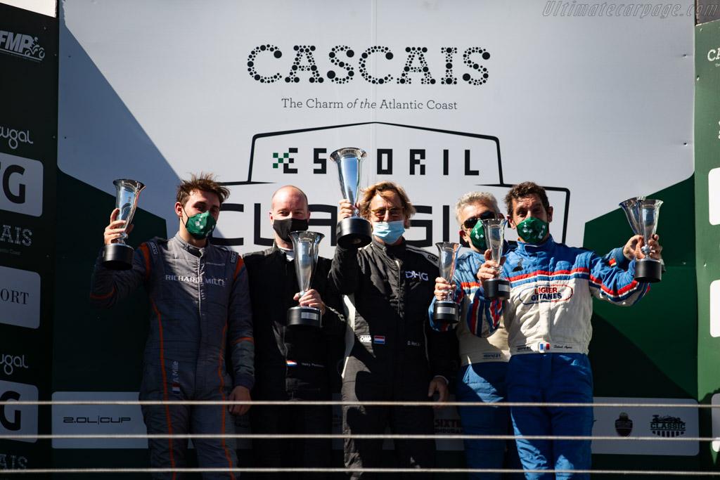 The Podium   - 2020 Estoril Classics