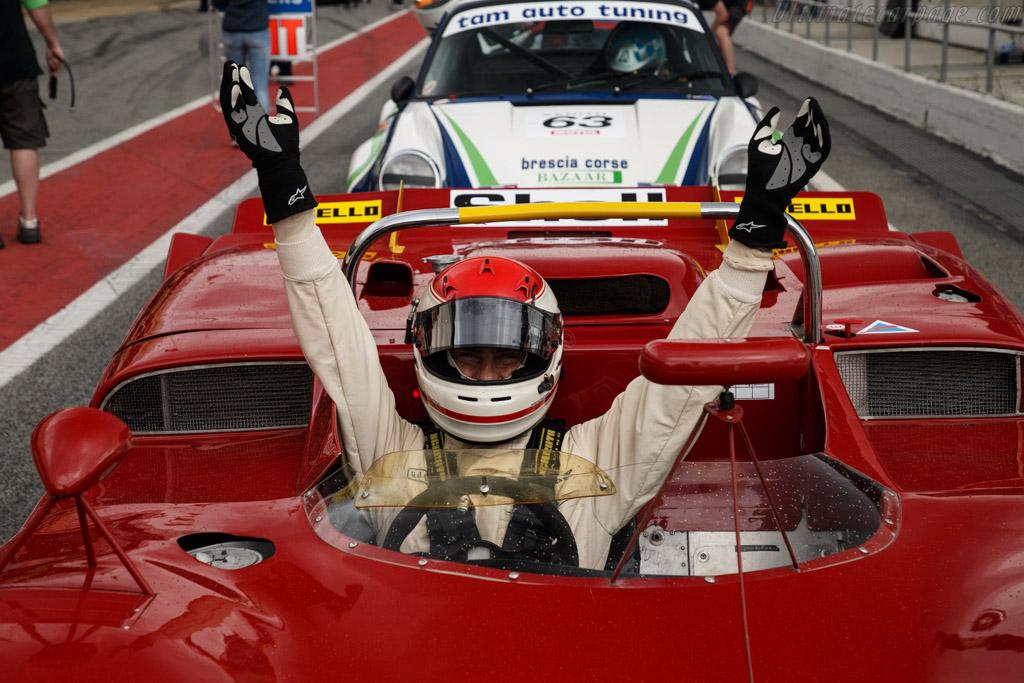 Alfa Romeo T33/3 - Chassis: 10580-023 - Driver: Gianluca Rattazzi / Emanuele Pirro  - 2018 Espiritu de Montjuic