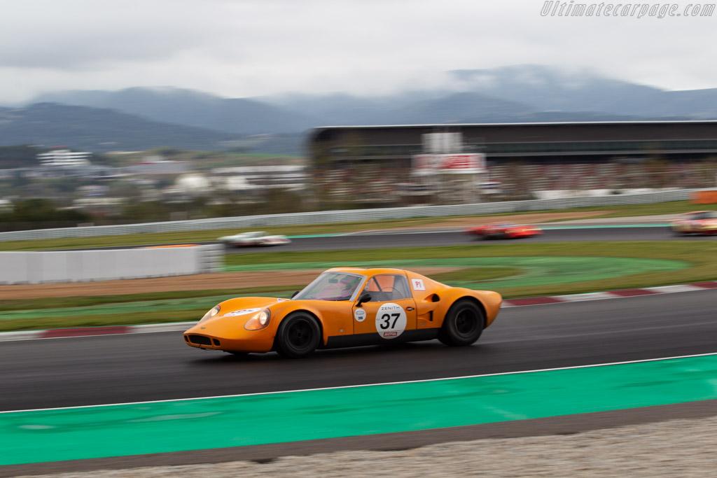 Chevron B6 - Chassis: CH-DBE-3 - Driver: Stephan Koenig  - 2018 Espiritu de Montjuic