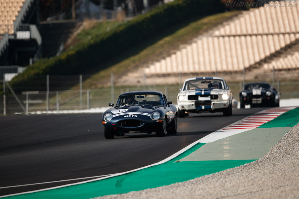 Jaguar E-Type - Chassis: 881192 - Driver: Lukas Halusa / Martin Halusa  - 2018 Espiritu de Montjuic