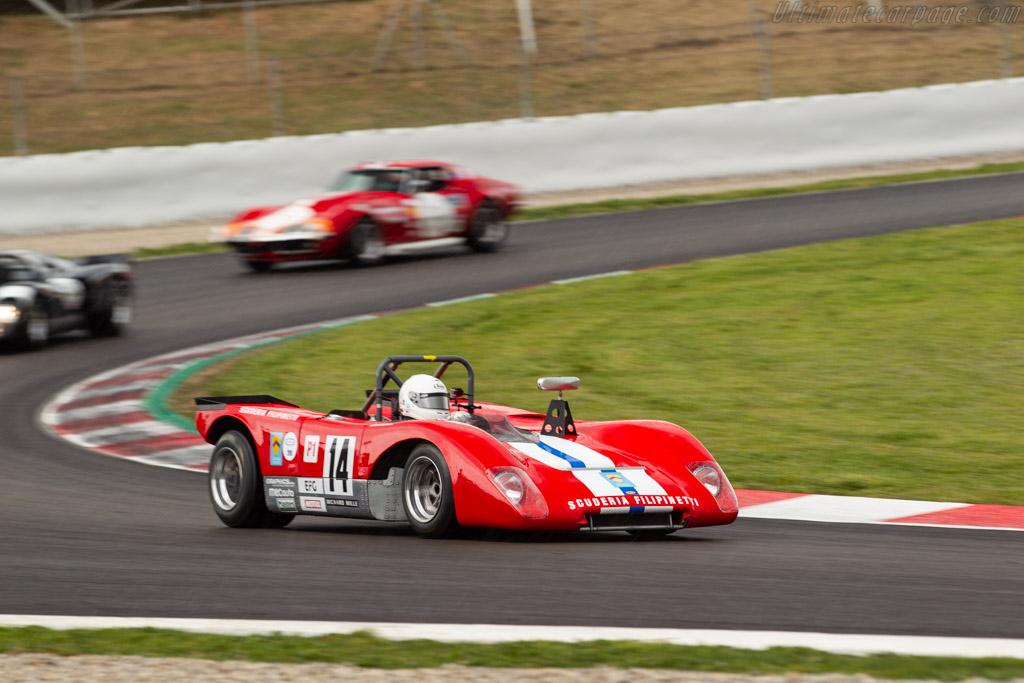 Lola T212 - Chassis: HU18 - Driver: Mauro Poponcini  - 2018 Espiritu de Montjuic
