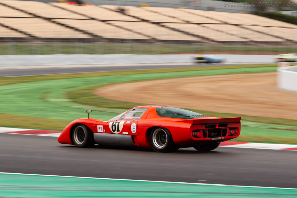 McLaren M6 GT - Chassis: 50-31 - Driver: Thomas Studer  - 2018 Espiritu de Montjuic