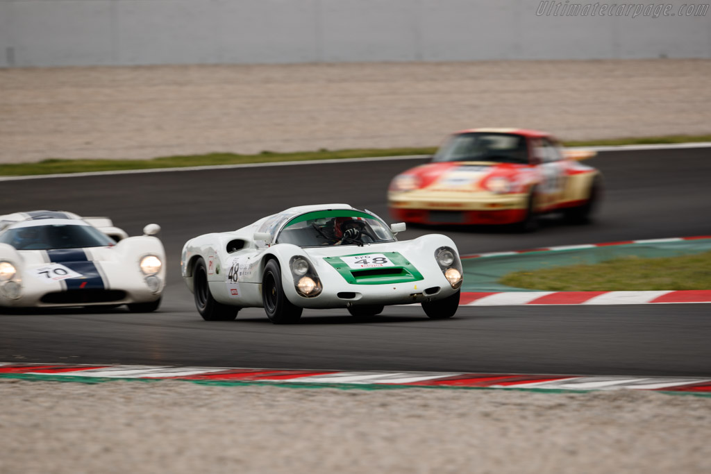 Porsche 910 - Chassis: 910-019 - Driver: Peter Vögele  - 2018 Espiritu de Montjuic