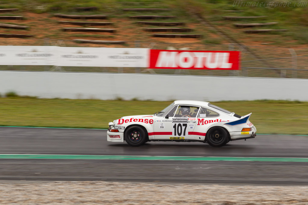 Porsche 911 Carrera RSR 2.8 - Chassis: 911 360 1033 - Driver: Jacques Almeras / Paul Beunas  - 2018 Espiritu de Montjuic