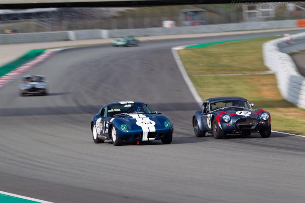 AC Cobra Daytona  - Driver: Pierre-Alain France / Erwin France - 2019 Espiritu de Montjuic