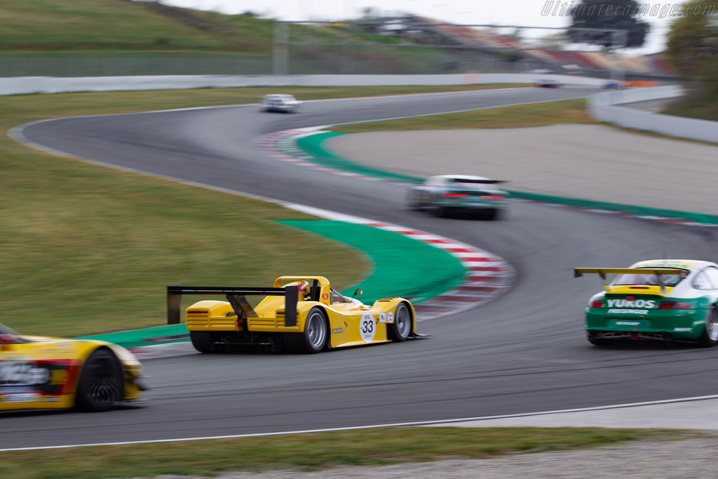 Ferrari 333 SP - Chassis: 034 - Driver: Michel Lecourt / Raymond Narac - 2019 Espiritu de Montjuic