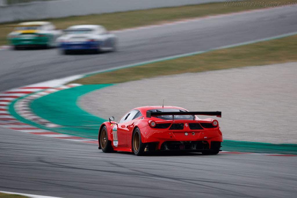 Ferrari 458 GTE - Chassis: 2842 - Driver: Henrik Lindberg / Tina Marianne Kok - 2019 Espiritu de Montjuic