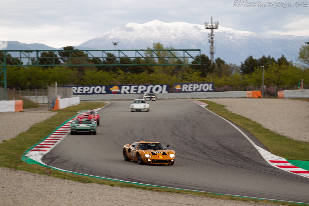 Ford GT40  - Driver: David Hart / Olivier Hart - 2019 Espiritu de Montjuic