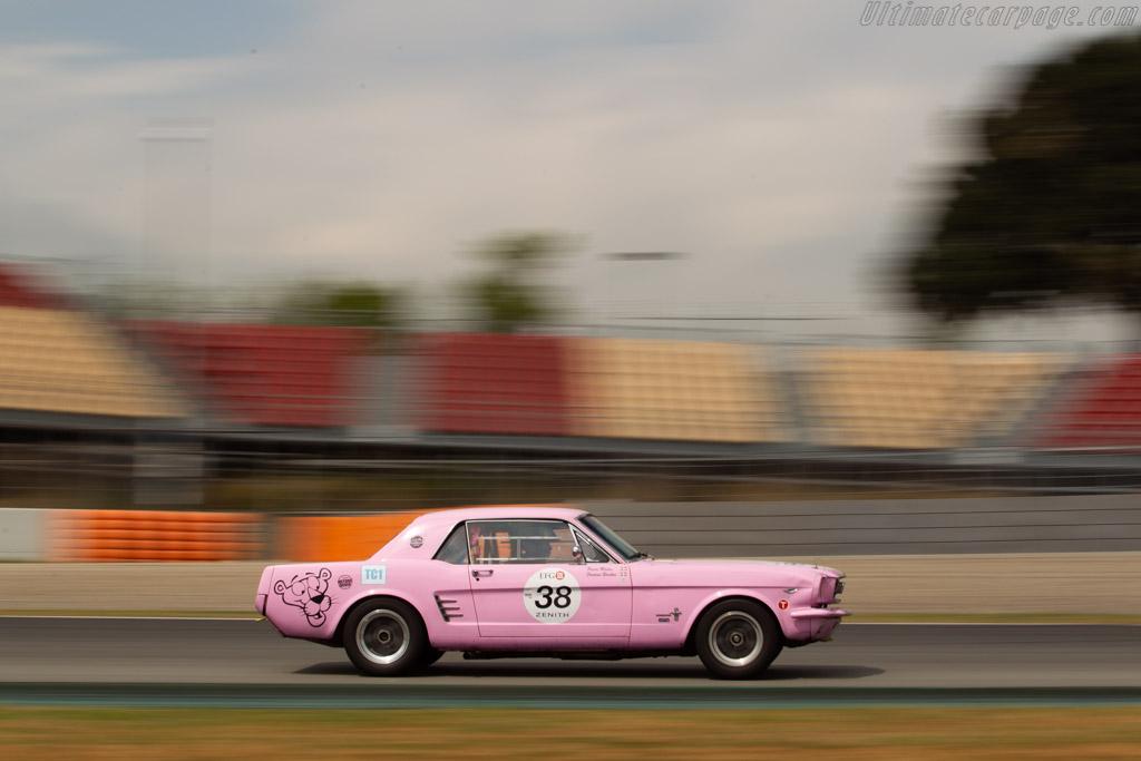 Ford Mustang - Chassis: 5F07C200185 - Driver: Pierre Modas / Philippe Dubrana - 2019 Espiritu de Montjuic
