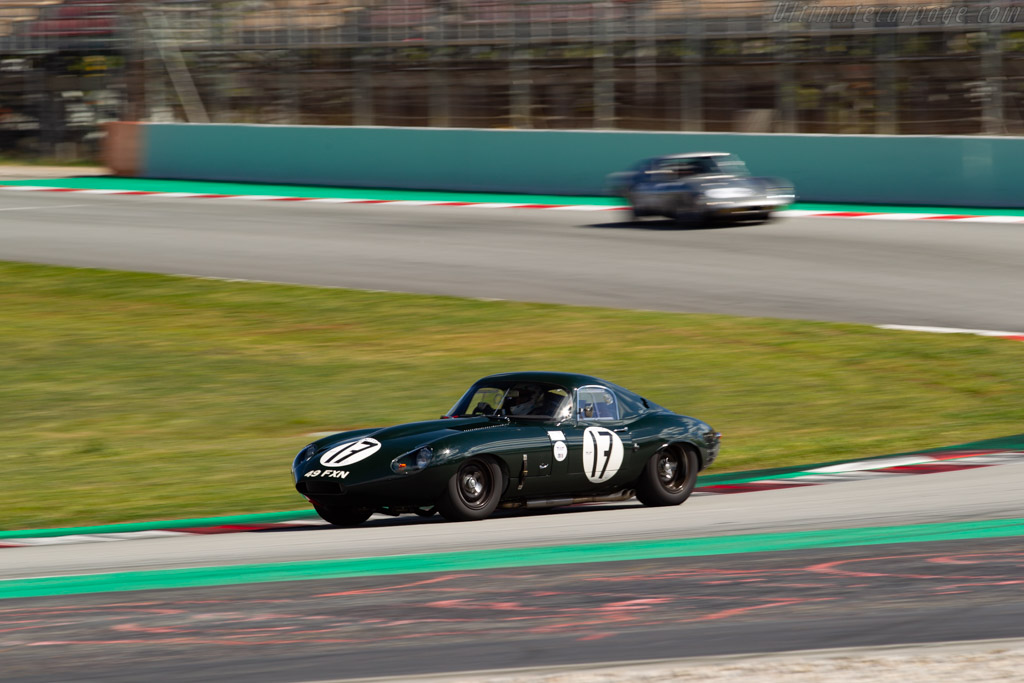 Jaguar E-Type Lightweight  - Driver: Lukas Halusa / Martin Halusa - 2019 Espiritu de Montjuic