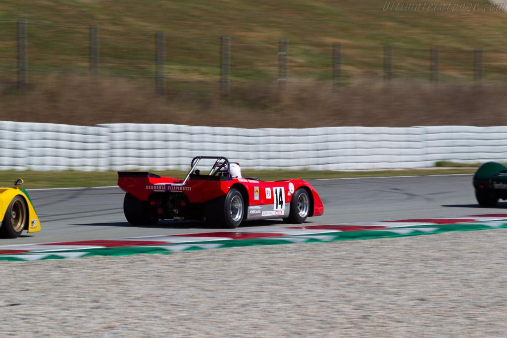 Lola T212 - Chassis: HU18 - Driver: Mauro Poponcini - 2019 Espiritu de Montjuic