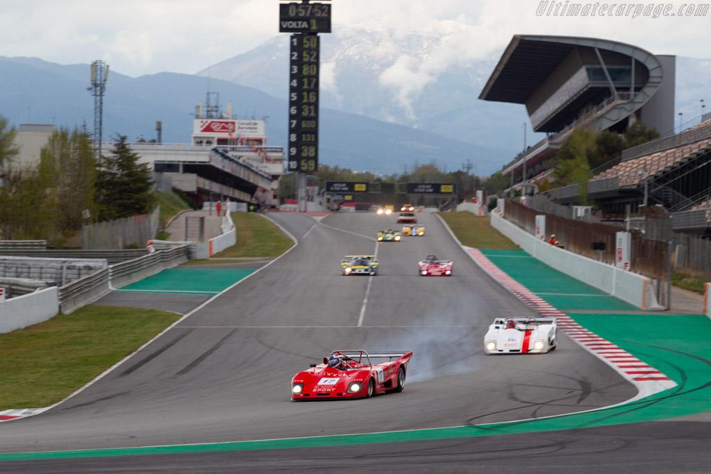 Lola T298 - Chassis: HU97 - Driver: Patrice Lafargue - 2019 Espiritu de Montjuic