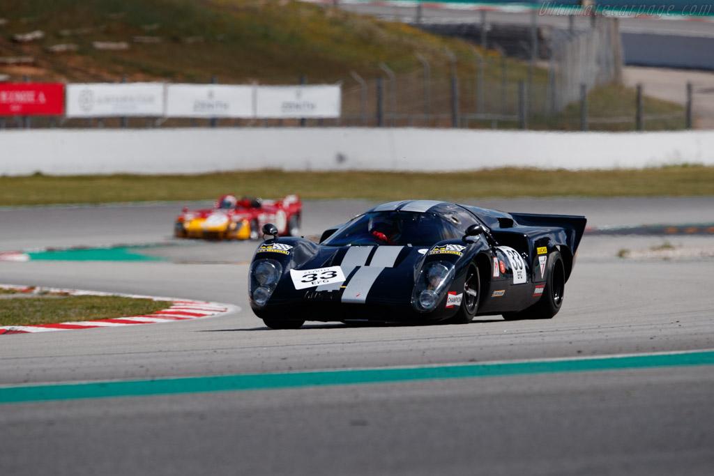 Lola T70 Mk3b  - Driver: Carlos Tavares - 2019 Espiritu de Montjuic