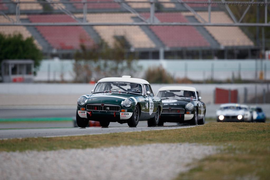 MG B - Chassis: GHN3-50971 - Driver: Jean-Michel Godet / Nicolas Berthy - 2019 Espiritu de Montjuic