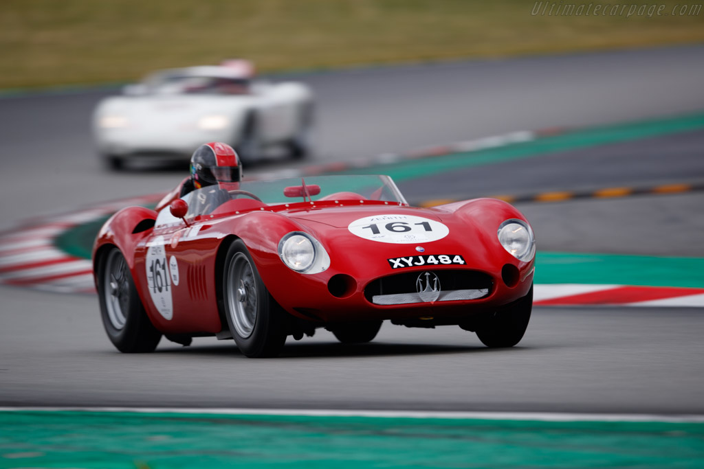 Maserati 300S - Chassis: 3035 - Driver: Guillermo Fierro - 2019 Espiritu de Montjuic