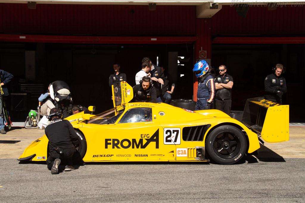 Nissan R90CK - Chassis: R90C/7 - Driver: Pierre-Alain France / Erwin France - 2019 Espiritu de Montjuic