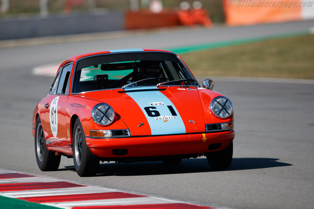 Porsche 911  - Driver: Guillermo Fierro / Steve Hart - 2019 Espiritu de Montjuic