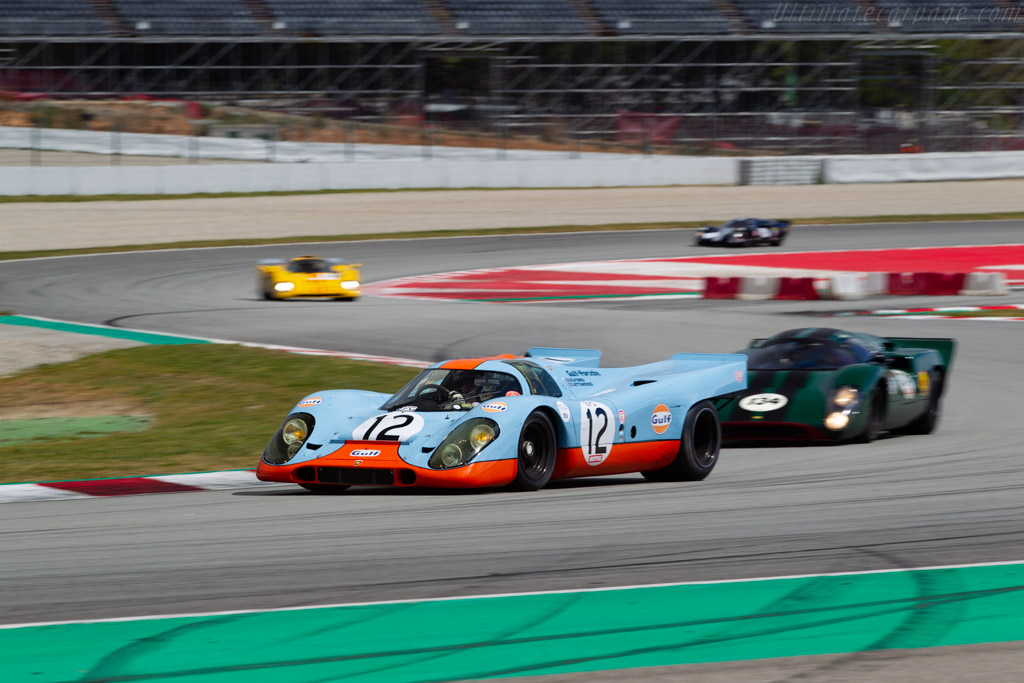Porsche 917K - Chassis: 917-008 - Driver: Claudio Roddaro - 2019 Espiritu de Montjuic