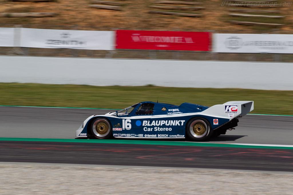 Porsche 962 - Chassis: 962-120 - Driver: Zak Brown / Richard Dean - 2019 Espiritu de Montjuic