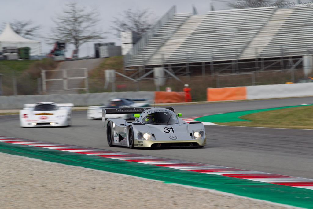 Sauber-Mercedes C11 - Chassis: 89.C11.00 - Driver: Kriton Lendoudis / Rui Aguas - 2019 Espiritu de Montjuic