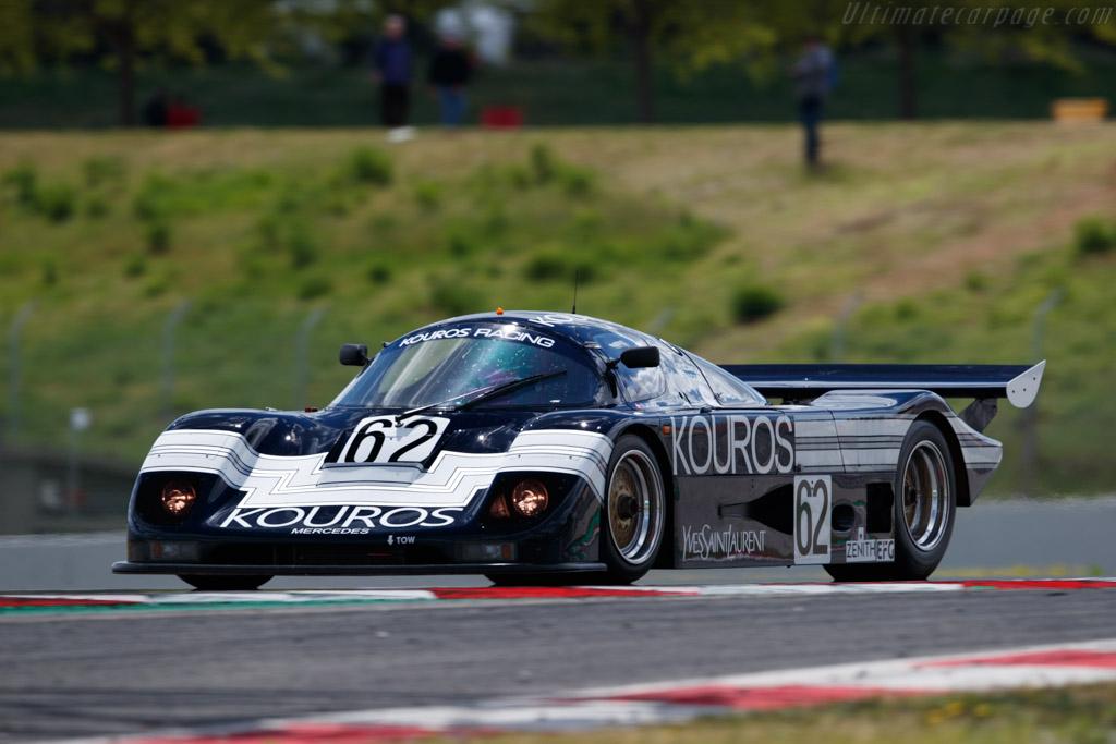 Sauber-Mercedes C8 - Chassis: 86.C8.02 - Driver: Henrik Lindberg - 2019 Espiritu de Montjuic
