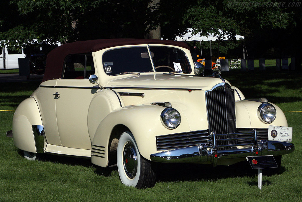 American Classics: Packard Deluxe 8 Convertible Coupe    - 2008 EyesOn Design