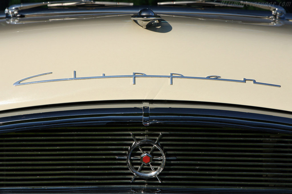 Windshield Wrapture: Packard Clipper    - 2008 EyesOn Design