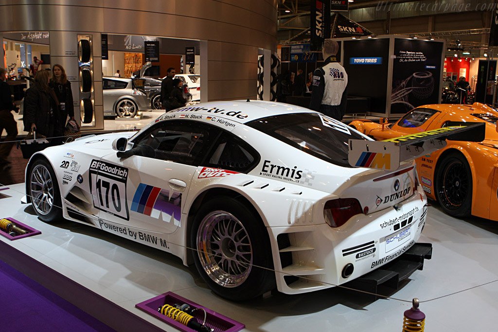 Bmw Z4 M Coupe Gt4 2007 Essen Motor Show