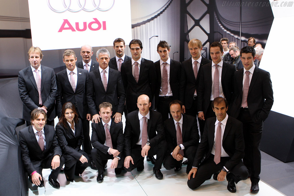 Audi Works Drivers    - 2008 Essen Motor Show