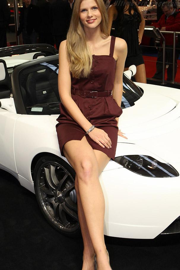 Brabus Tesla Roadster - 2008 Essen Motor Show