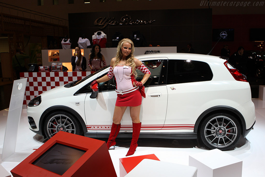 Fiat Abarth Grande Punto Esseesse 2008 Essen Motor Show