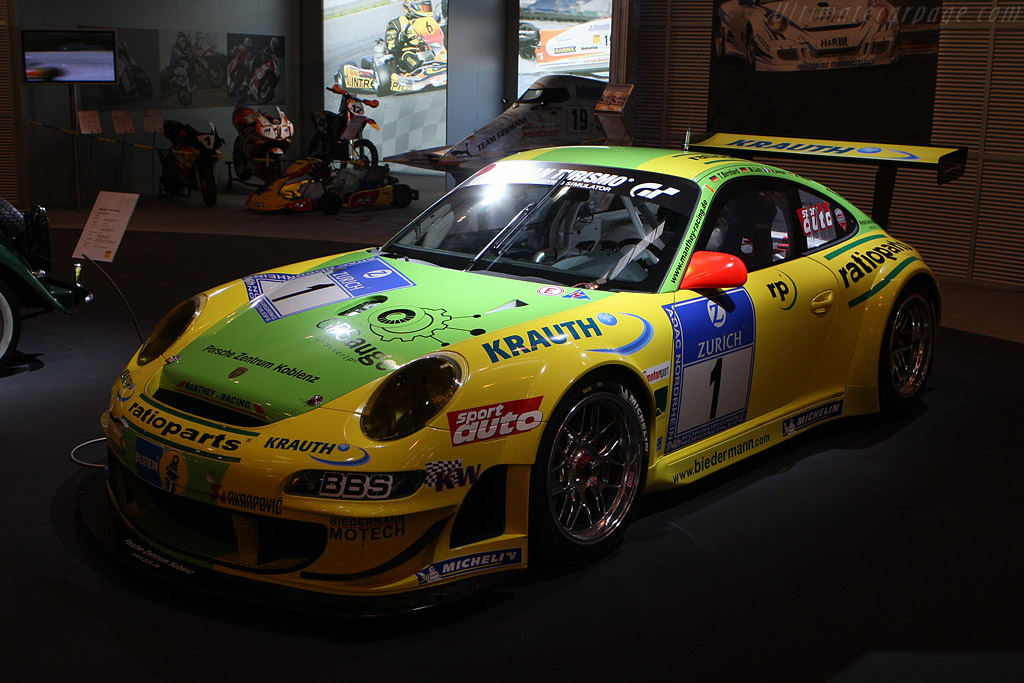 Porsche 997 GT3 RSR ('Ring 24 Hours winner)    - 2008 Essen Motor Show