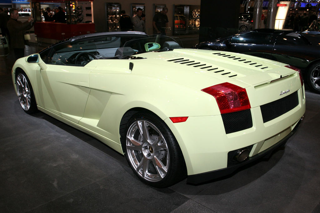 Lamborghini Gallardo Spider    - 2005 Essen Motor Show