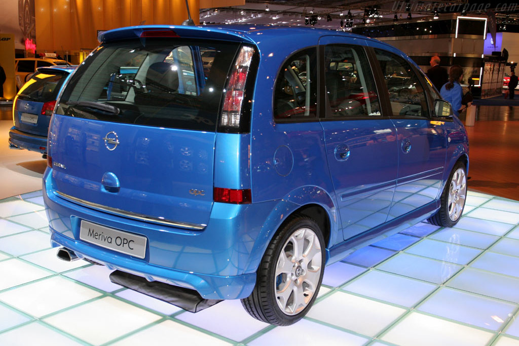 Opel Meriva OPC    - 2005 Essen Motor Show