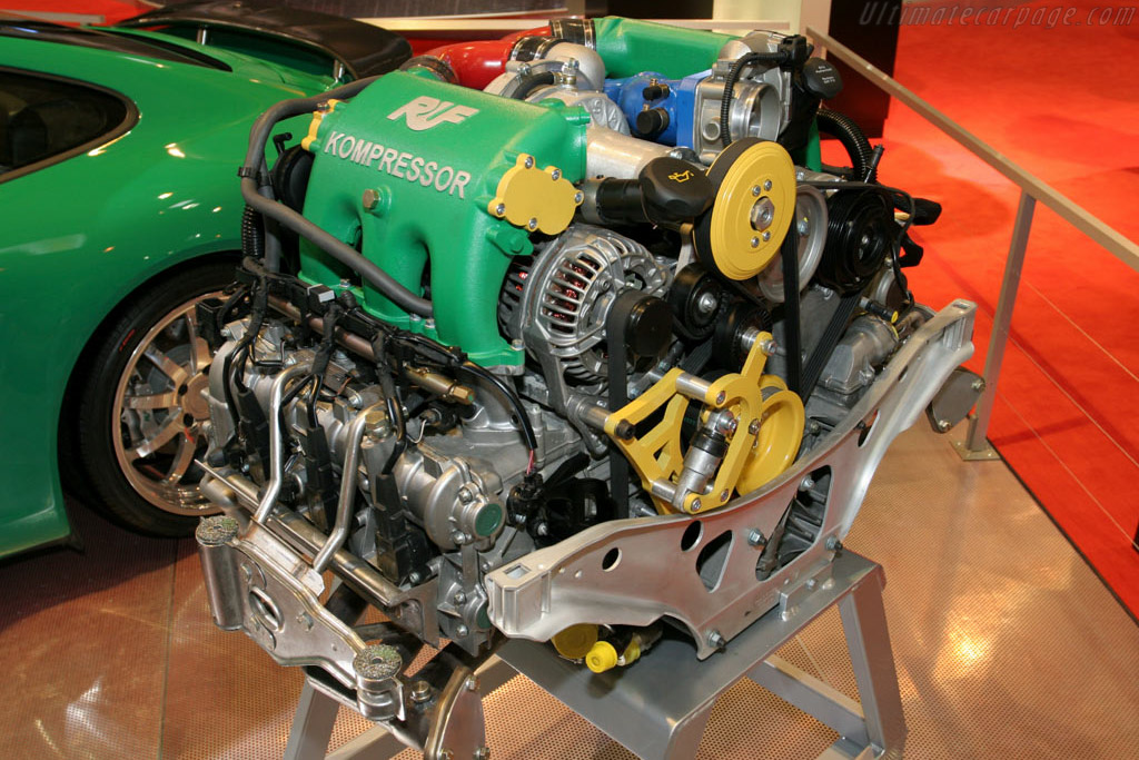 RUF R Kompressor    - 2005 Essen Motor Show
