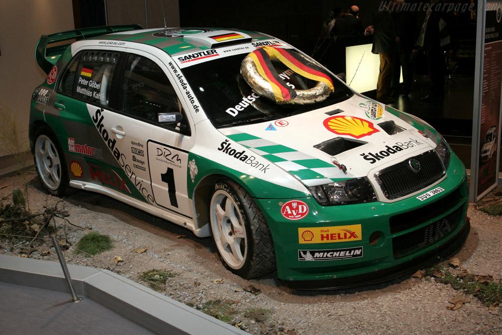 Skoda Fabia WRC    - 2005 Essen Motor Show