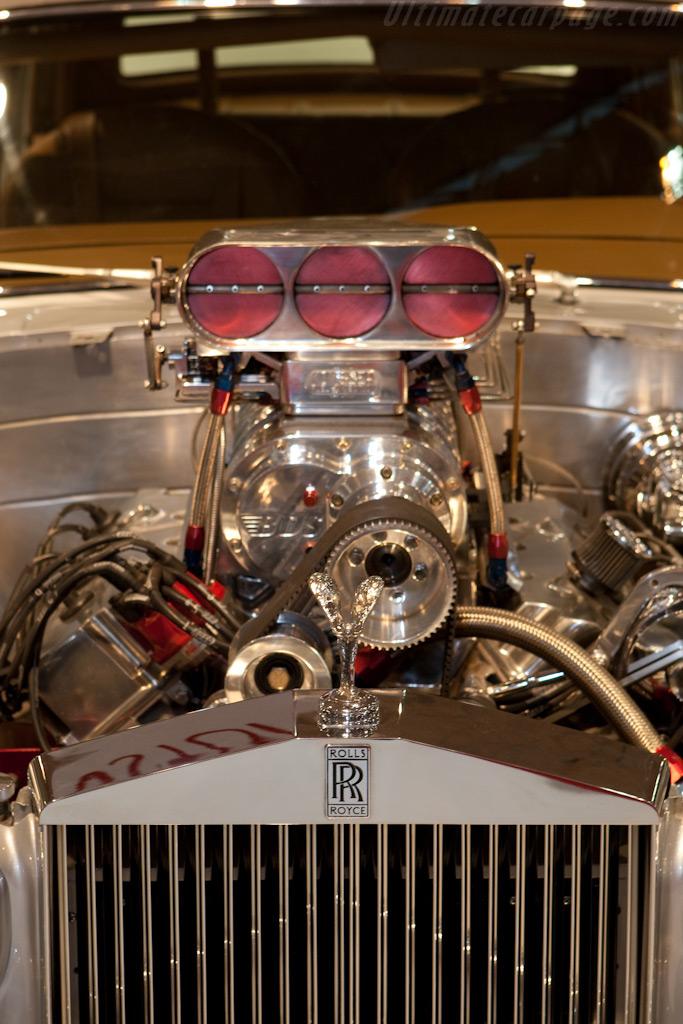 Supercharged Spirit of Ecstasy    - 2009 Essen Motor Show