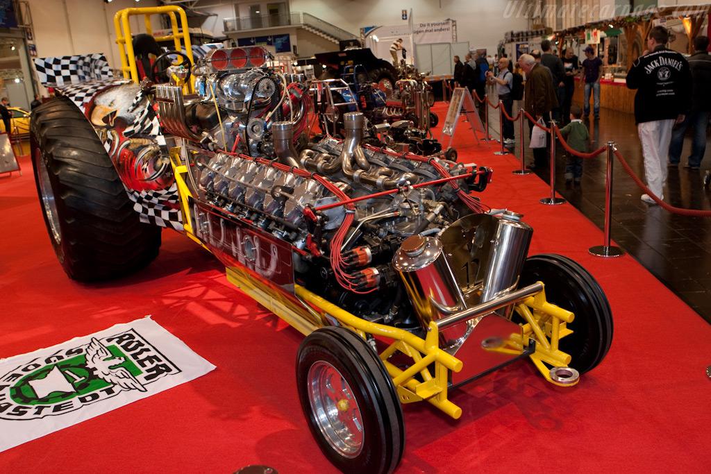 Tractor Pulling    - 2009 Essen Motor Show