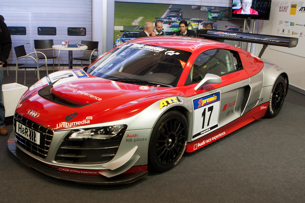 Audi R8 LMS - Chassis: AS42AOFGT3120407   - 2011 Essen Motor Show