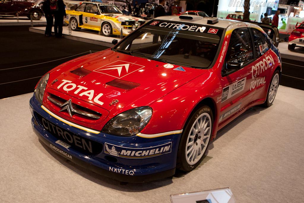 Citroën Xsara WRC    - 2011 Essen Motor Show