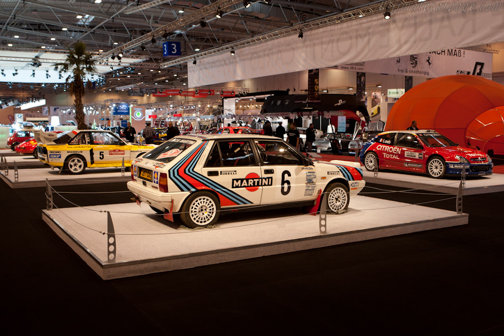 Lancia Delta Integrale - Chassis: ZLA831AB000366111  - 2011 Essen Motor Show