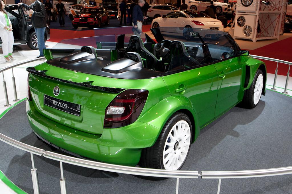 Skoda Fabia RS 2000 Concept    - 2011 Essen Motor Show