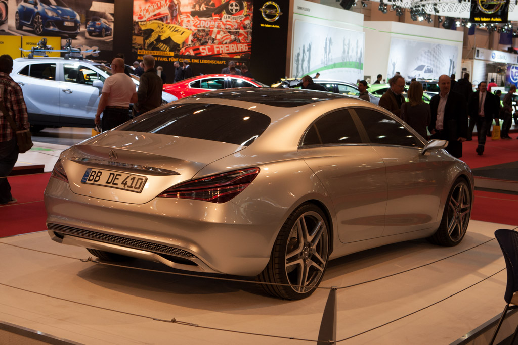 Mercedes-Benz Concept Style Coupe    - 2012 Essen Motor Show