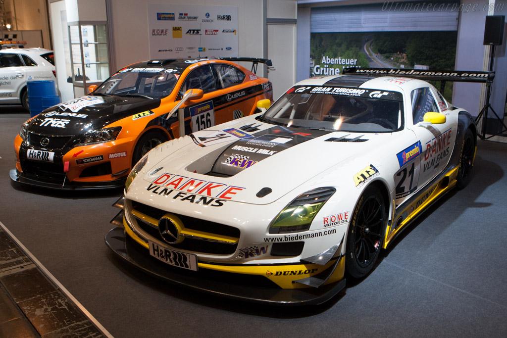 Mercedes-Benz SLS AMG GT3    - 2012 Essen Motor Show