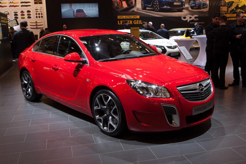 Opel Insignia OPC    - 2012 Essen Motor Show