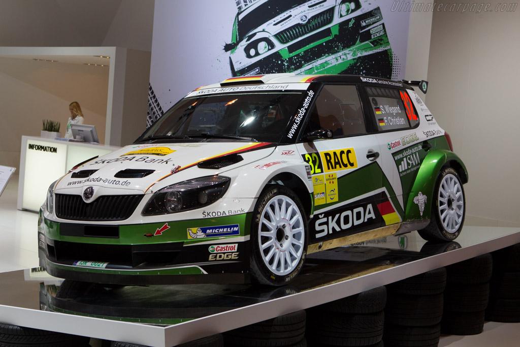 Skoda Fabia S2000    - 2013 Essen Motor Show