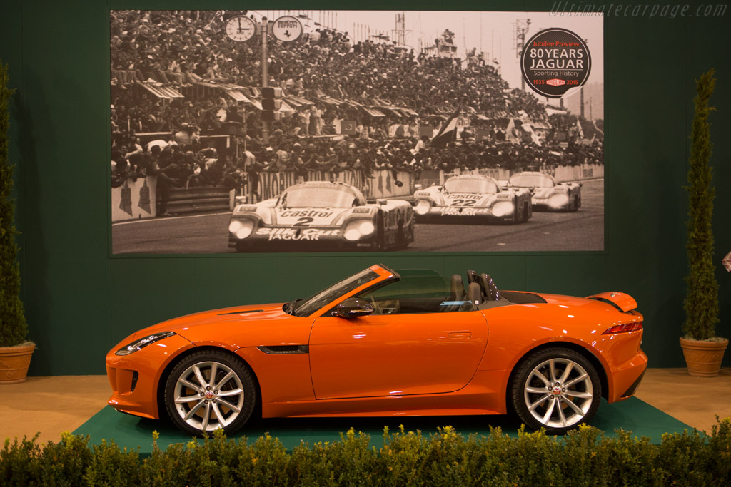 Jaguar F-Type Roadster S    - 2014 Essen Motor Show