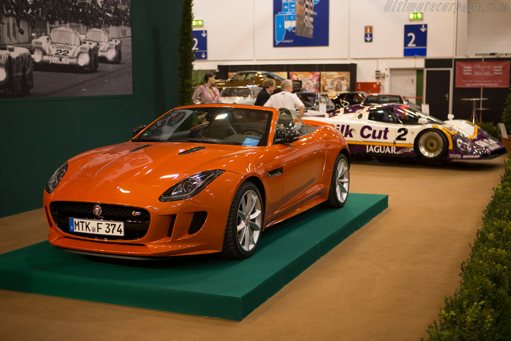 Jaguar F-Type Roadster S    - 2014 Essen Motor Show