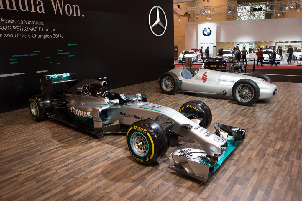Mercedes-Benz W05    - 2014 Essen Motor Show