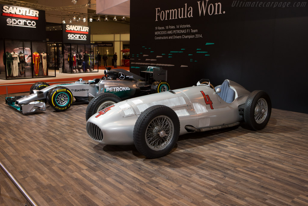 Mercedes-Benz W154 - Chassis: 189441/11   - 2014 Essen Motor Show